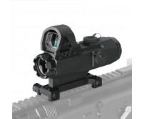 4x24mm New Mark 4 High Accuracy Multi-Range Riflescope (HAMR)  PP1-0403 | PPT P.P.T
