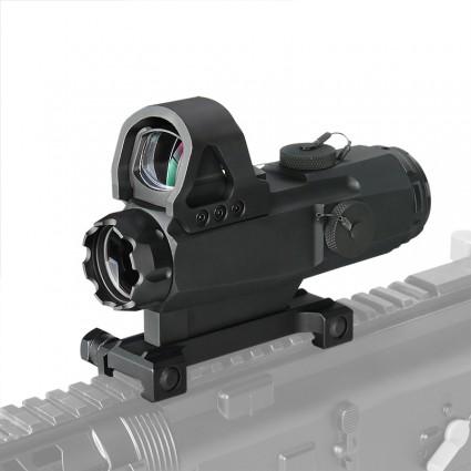 4x24mm New Mark 4 High Accuracy Multi-Range Riflescope (HAMR)  PP1-0403   PPT P.P.T