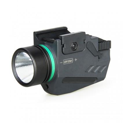Compact/sub-compact 150 Lumen Tactical Flash Light PP15-0125   PPT P.P.T