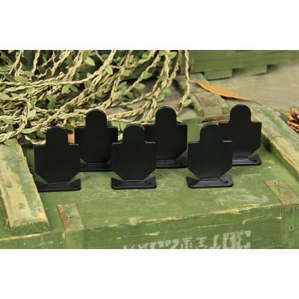 Bull's-Eye Target,Iron shooting practice target, 6 Pieces Set PP36-0021  | PPT P.P.T