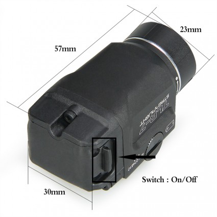 TLR-7 Tactical Flash Light PP15-0127   PPT P.P.T