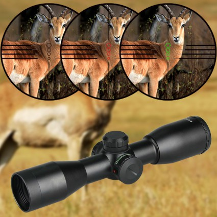 4×32 Rifle Scope For Hunting PP1-0257   PPT P.P.T