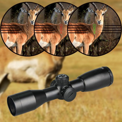 3×32 Rifle Scope For Hunting PP1-0258   PPT P.P.T