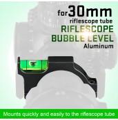 Riflescope Bubble Level For 30mm Riflescope Tube PP33-0091 | PPT P.P.T
