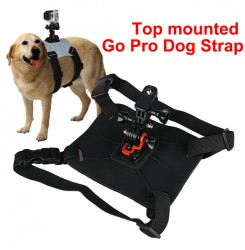 Top mounted Go Pro Dog Strap for Sports camera PP37-0012 | PPT P.P.T