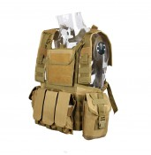 Tactical vest set-up Military army vest for outdoor equipment PP4-0023 | PPT P.P.T