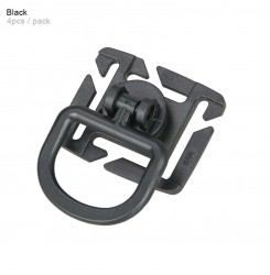 Molle system can be rotated 8 D-type buckle PP6-0108   PPT P.P.T
