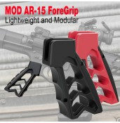 MOD AR-15 ForeGrip,CNC PISTOL FOREGRIP PP19-0146 | PPT P.P.T