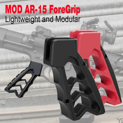 MOD AR-15 ForeGrip,CNC PISTOL FOREGRIP PP19-0146   PPT P.P.T