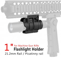 "Durable Tactical 1"" Flashlight Mount Grip Holder QD Torch Mount  PP33-0004   PPT P.P.T"
