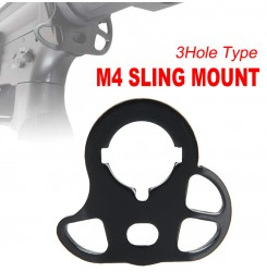 CQD Rear Sling Mount for M4 AEG Series,Sling adapter PP33-0053   PPT P.P.T
