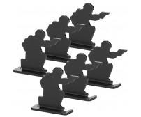 Bull's-Eye Target,Iron shooting practice target, 6 Pieces Set PP36-0019  | PPT P.P.T