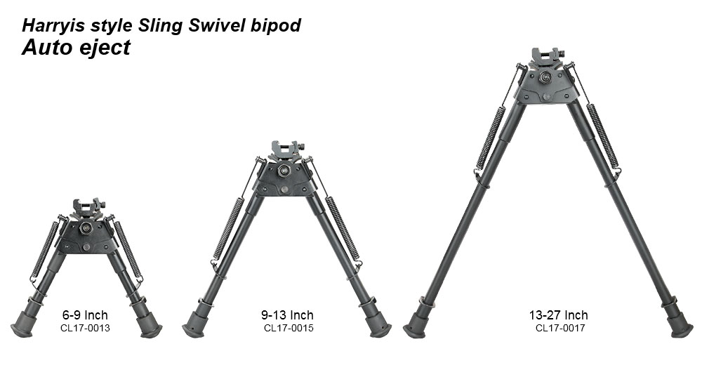 harryis style sling swivel bipod