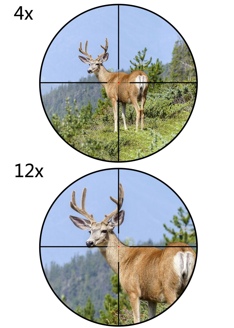 4-12x44 rifle scope