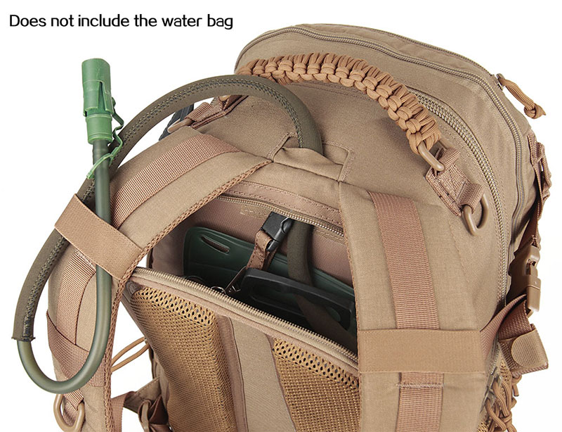Direct action dust pack
