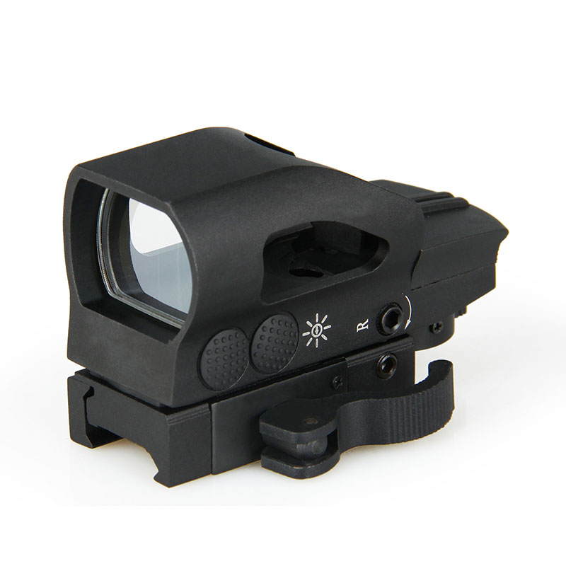 1X22X33 red and green dot reflex sight