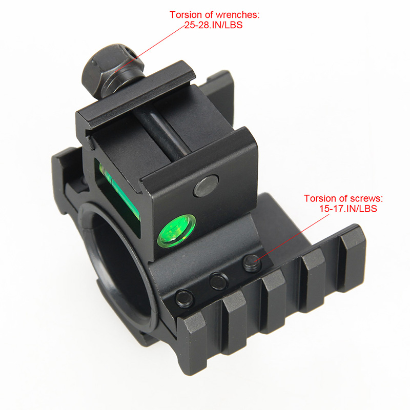 25.4mm or 30mm Rifle Scopes mount