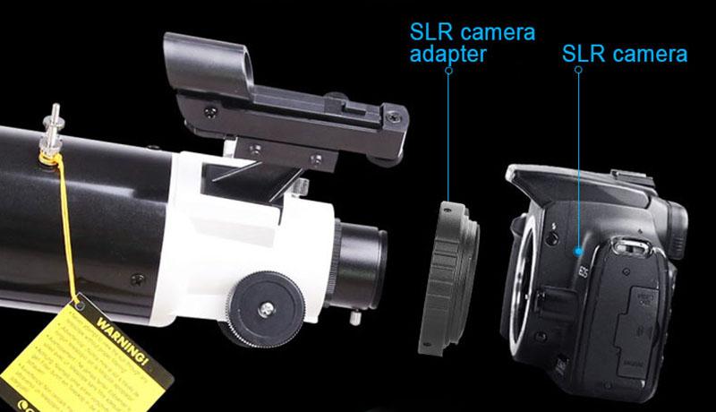 Telescope camera adapter