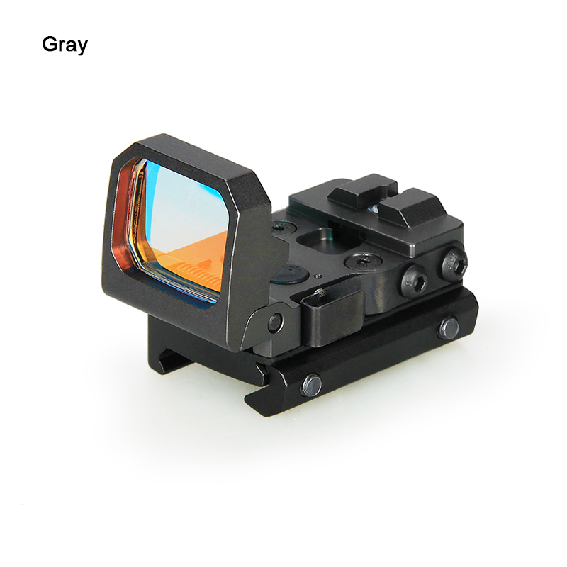 1x Folding Reflex Red Dot Sight with Mount,3 MOA Dot