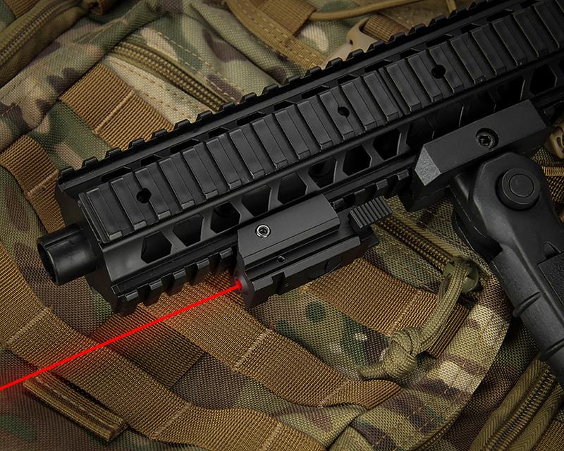 red laser sight