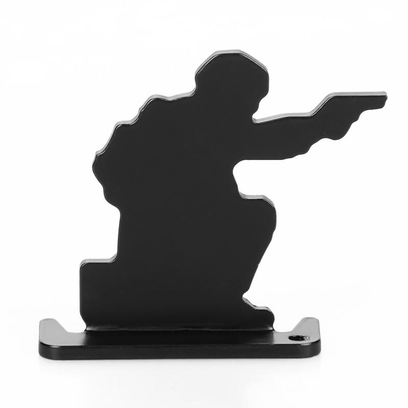 Iron shooting practice target