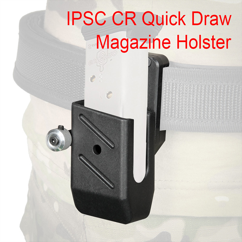 Airsoft IPSC Holster CR Quick Draw Holster Magazine Ipsc CR Left Right Handed Tactical Holster Pouch