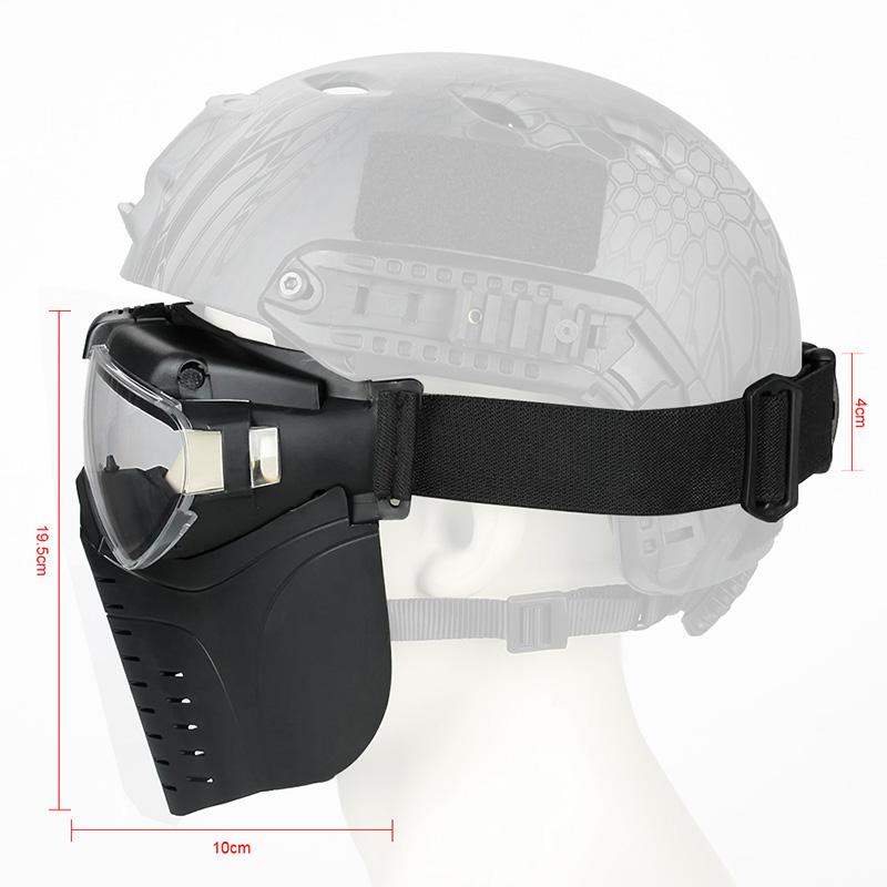 Military Full Face Mask