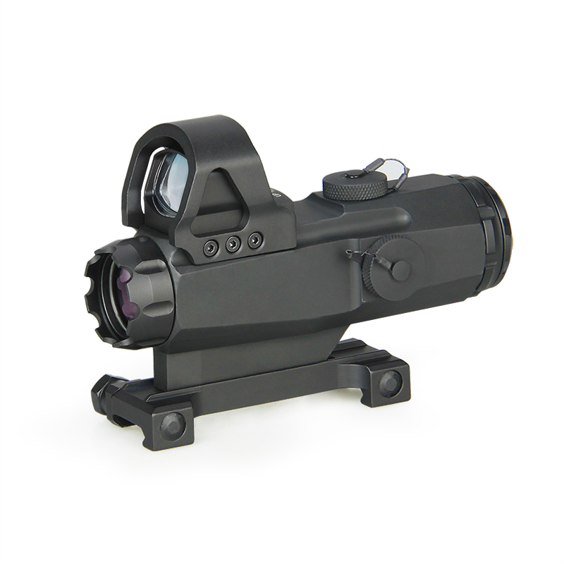 4x24mm New Mark 4 High Accuracy Multi-Range Riflescope (HAMR)